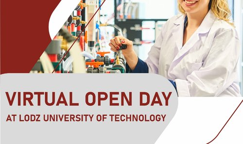 Virtual open day at Lodz University of Tecgnology